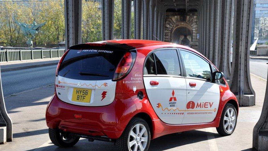 Mitsubishi i-MiEV : première électrique en Europe ?
