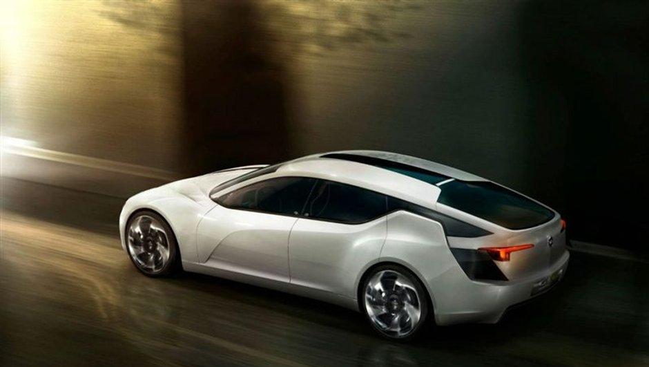 Salon de Genève 2010 : Opel Flextreme GT/E concept