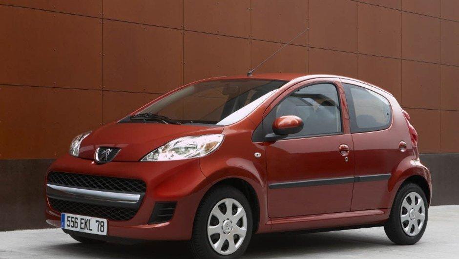 Une nouvelle version de la Peugeot 107