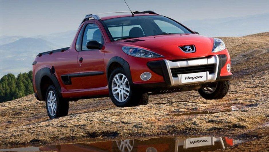 Peugeot Hoggar, le pick-up brésilien