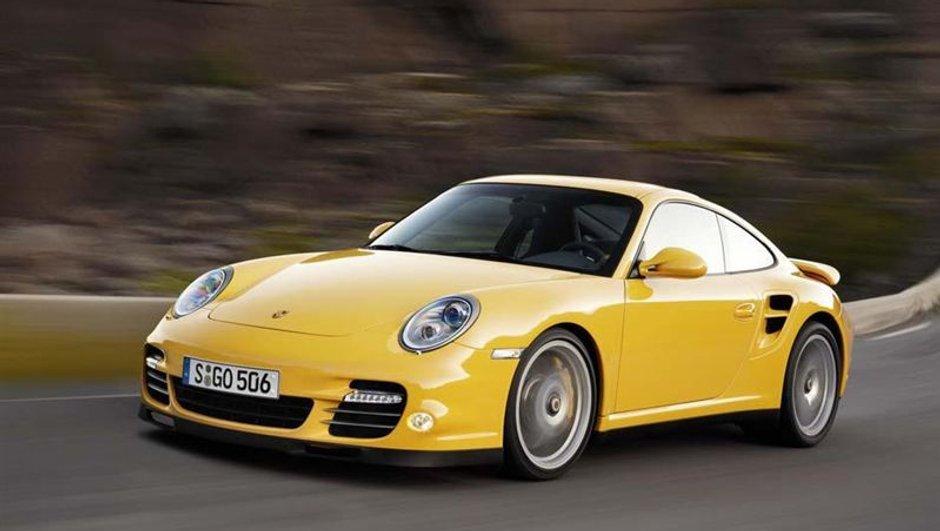 Salon de Francfort 2009 : Porsche 911 Turbo restylée