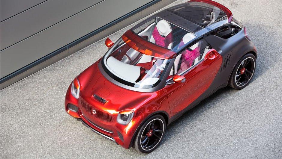 Smart exposera deux concept-cars à Francfort