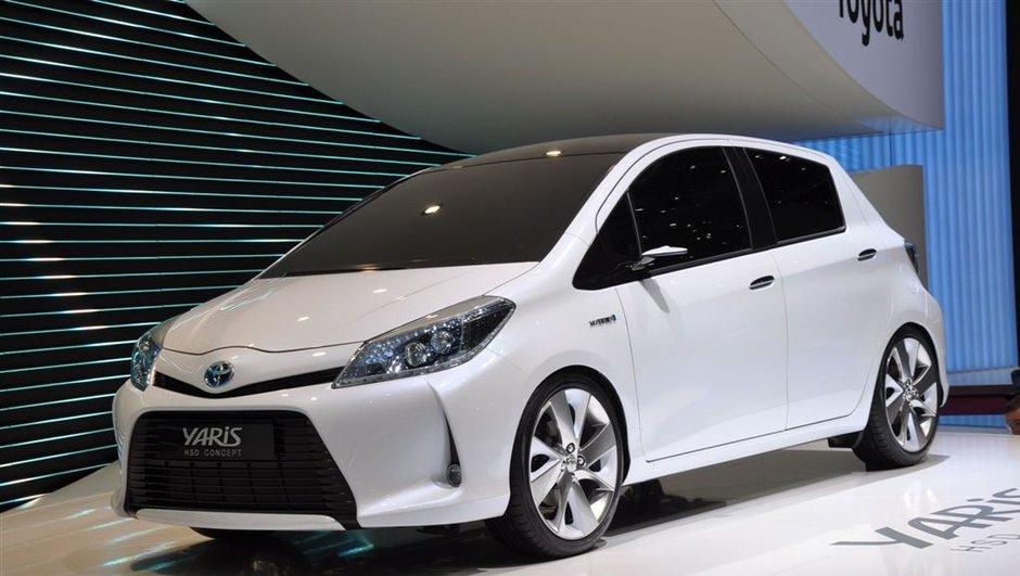 Salon de Genève 2011 : Toyota Yaris HSD concept, nouveau look et motorisation hybride