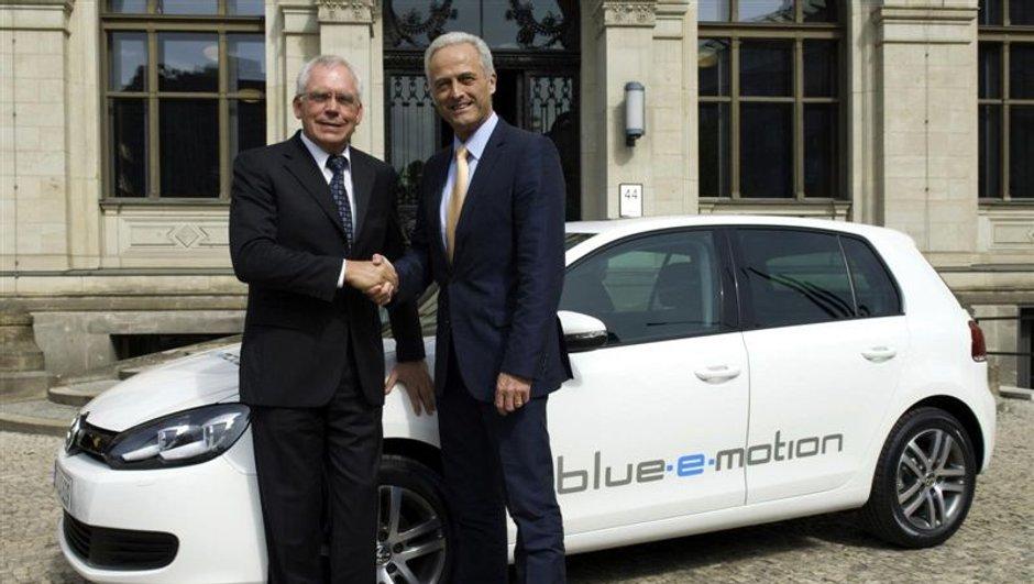 La Volkswagen Golf passe à l'électrique avec la version Blue-e-motion