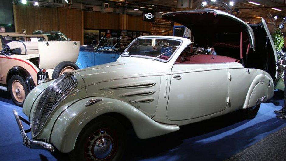 Salon Cabriolet 2009 : 110 ans d'Histoire Peugeot