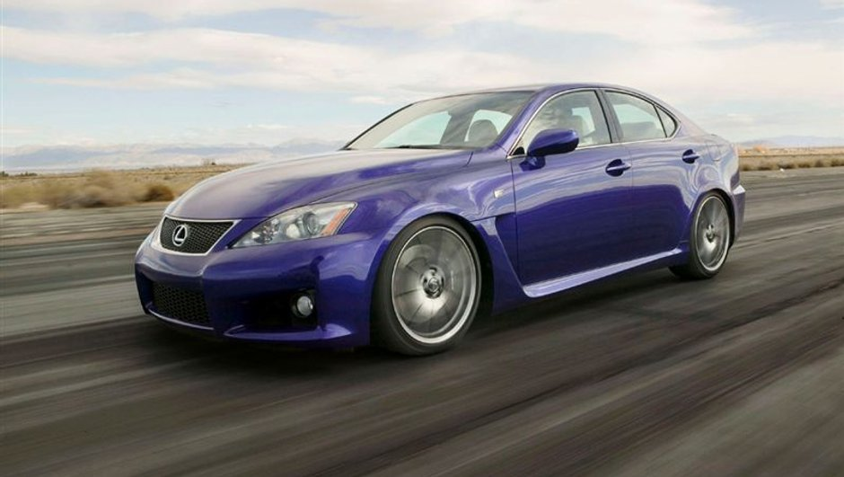 Lexus IS-F : chasseuse de M3