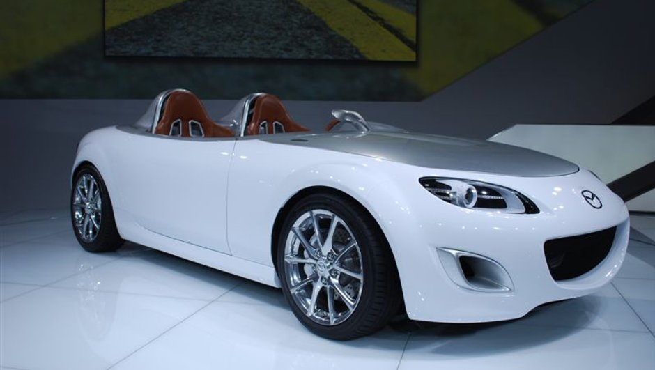 Salon de Francfort 2009: Mazda MX-5 Superlight