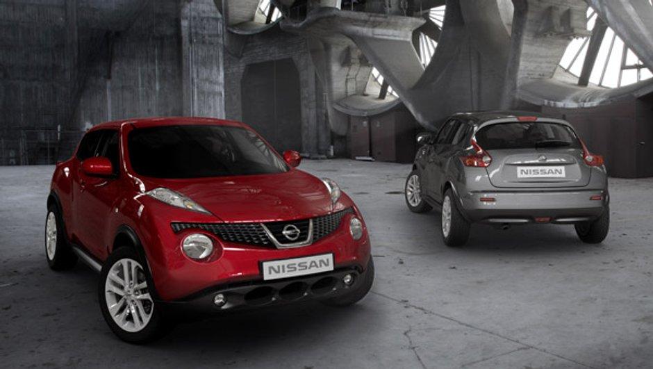 Nissan Juke affiche ses prix à partir de 16.490 euros