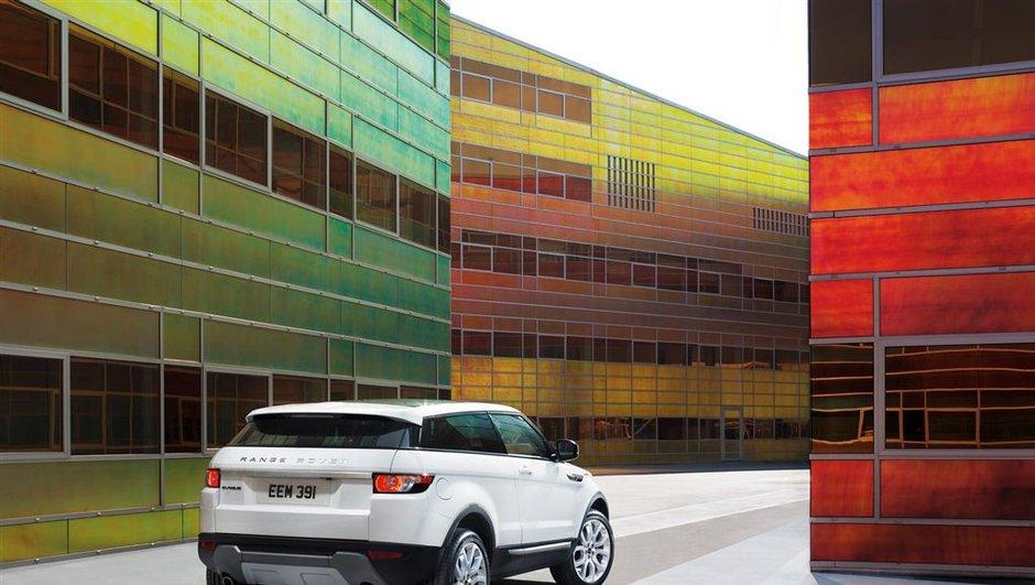 Mondial de l'Auto 2010 : Le Range-Rover Evoque se dévoile avant Paris