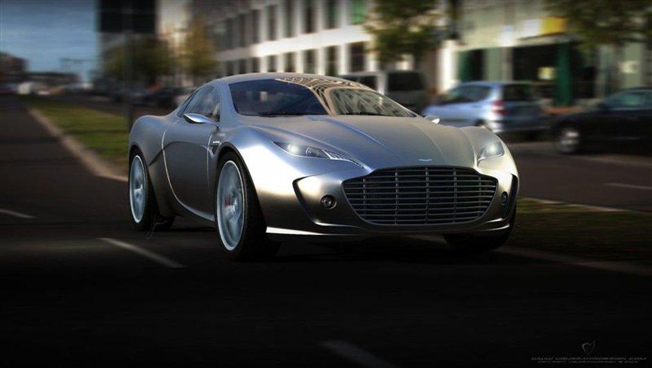 Présentation du concept Aston Martin Gauntlet