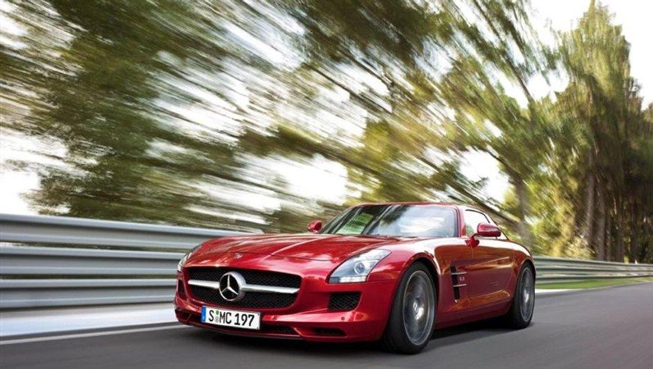Suisse : Une Mercedes SLS AMG à 290 km/h sur l'autoroute !