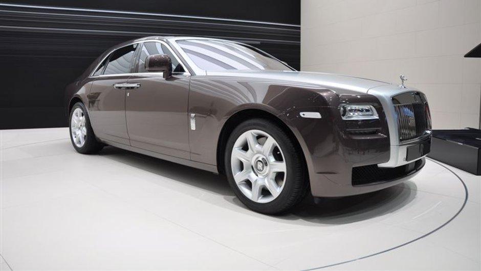 Salon de Francfort 2009 : Rolls Royce Ghost