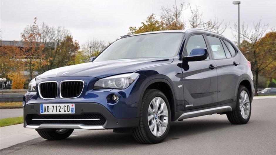 De nouveaux moteurs pour le BMW X1