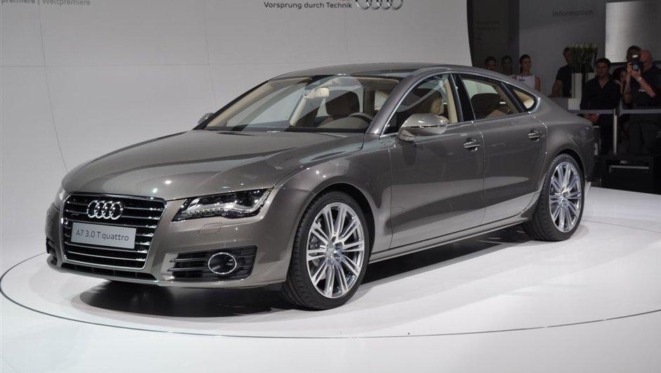 Mondial de l'Auto 2010 : Audi A7 Sportback officielle