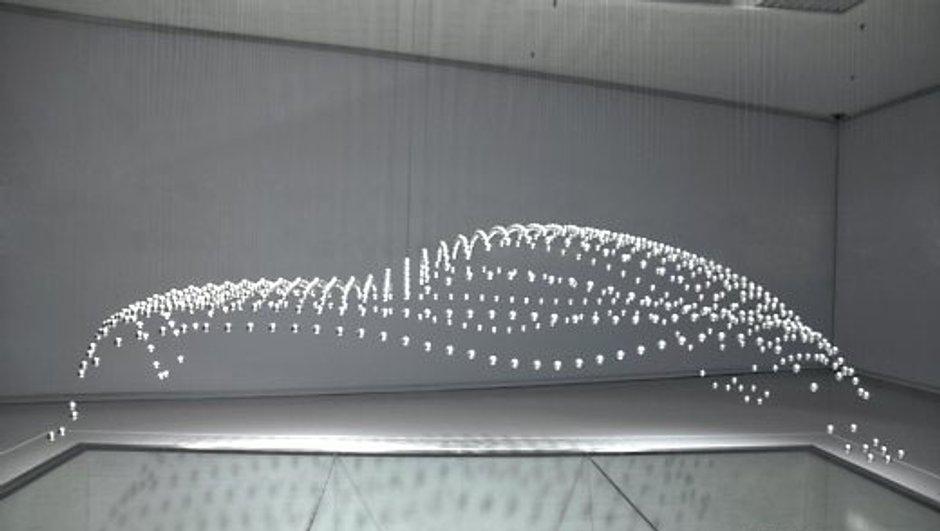 BMW imagine une sculpture cinétique !