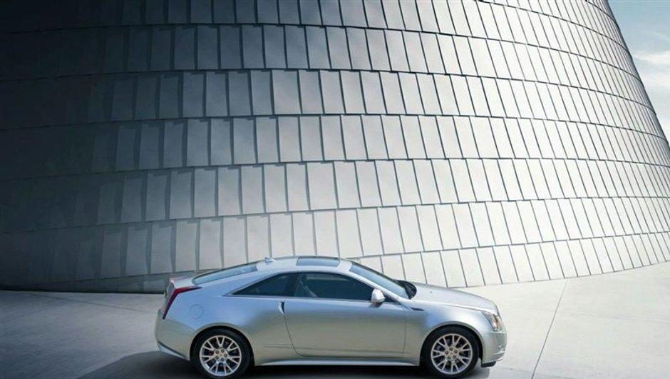 La Cadillac CTS Coupé en formes
