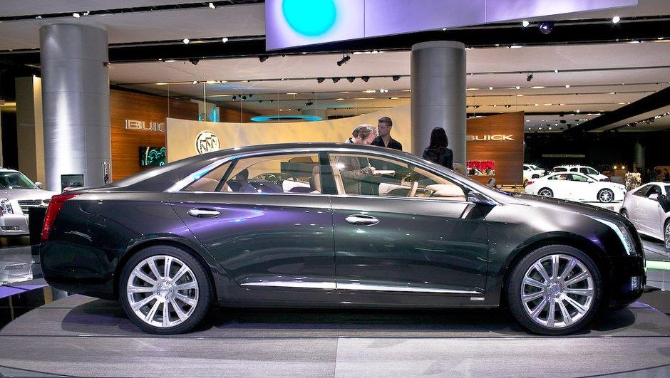 Salon de Detroit 2010 : Cadillac XTS Platinum