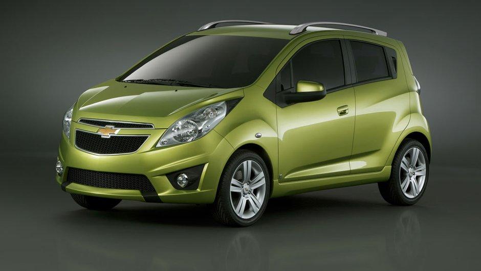 Genève 2009 : La Chevrolet Spark