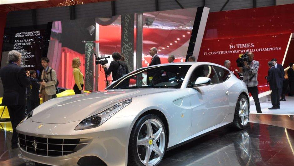 Salon de Genève 2011 : Ferrari FF, la preuve par 4