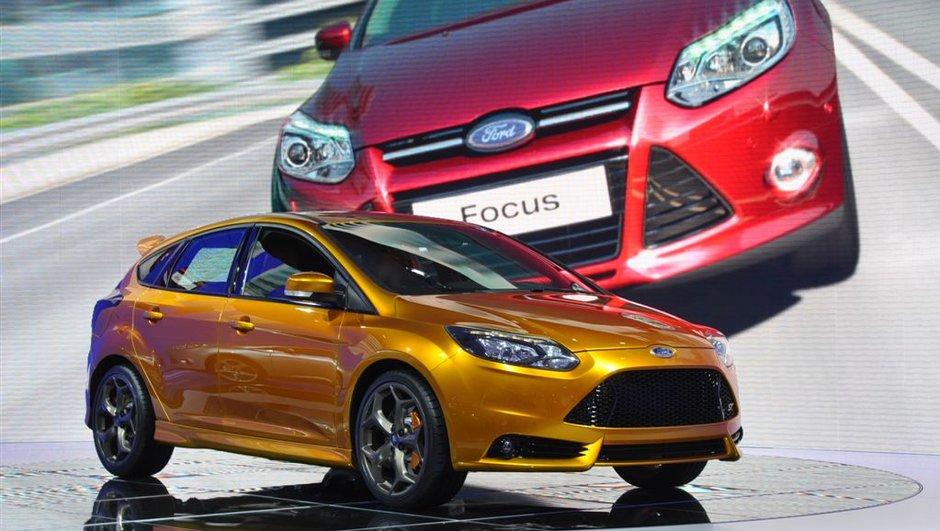 Mondial de l'Auto 2010 : Ford Focus ST, lointaine orange mécanique