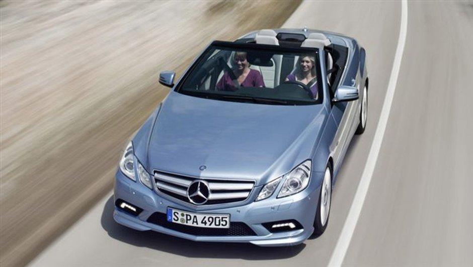 Voici le Mercedes Classe E Cabriolet !
