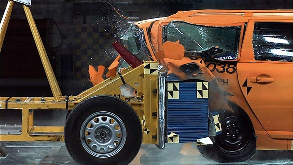 Volvo : Des carsh-test pour les véhicules électriques
