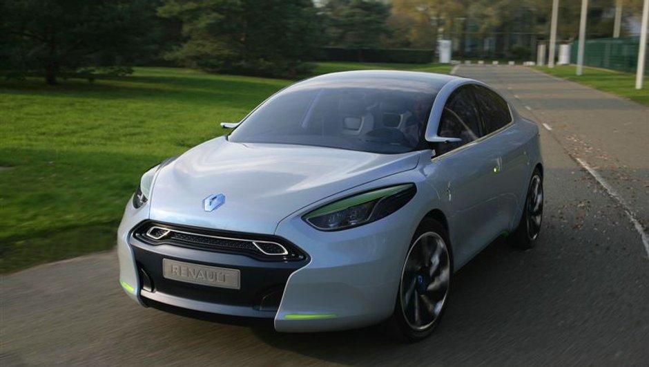 La Renault Fluence Z.E. commercialisée en 2011