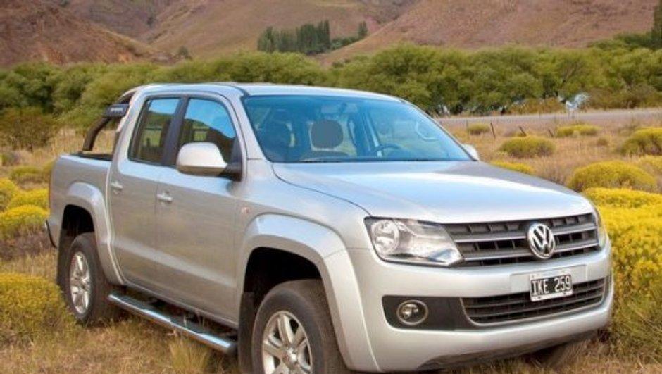 Insolite : le Volkswagen Amarok, véritable engin de démolition