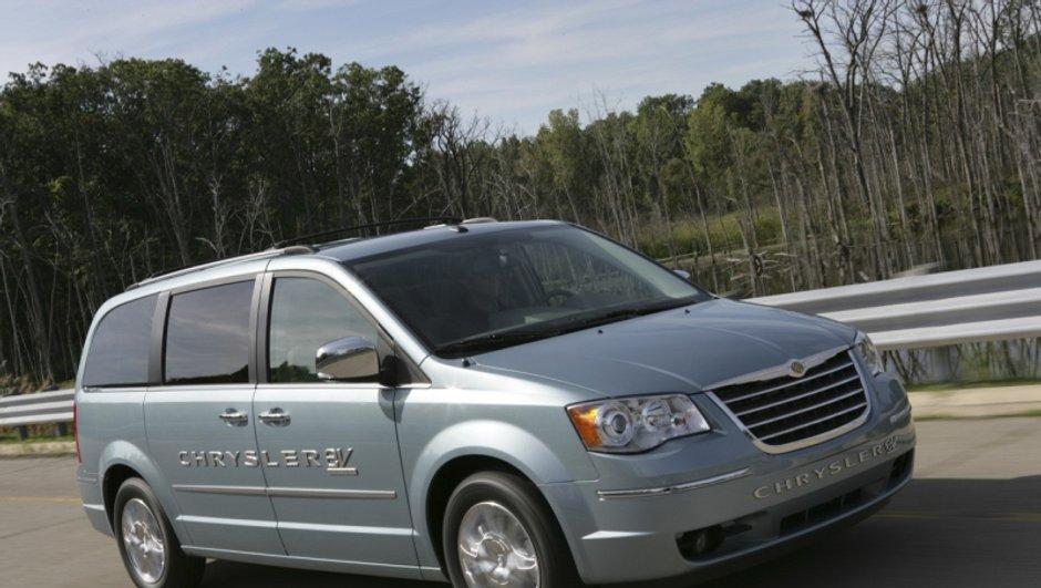 Crise : Chrysler ferme ses usines pendant 1 mois