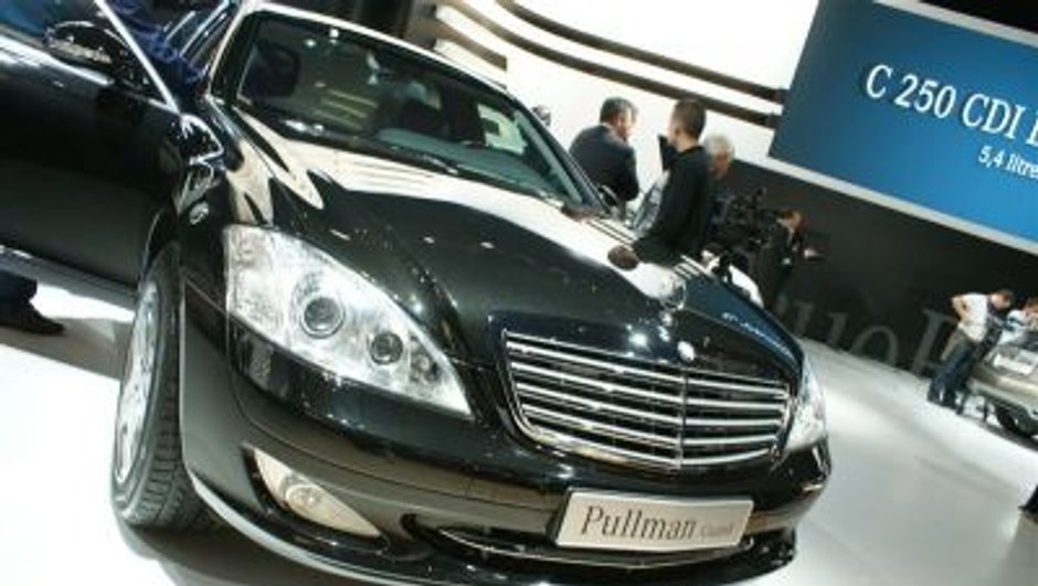 Mercedes S600 Pullman Guard : protection maximale