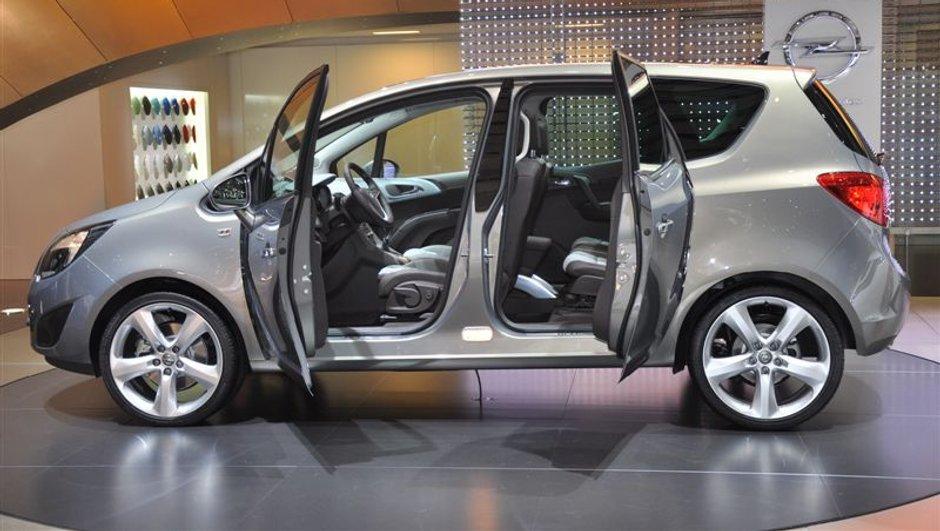 L'Opel Meriva dévoile son prix !