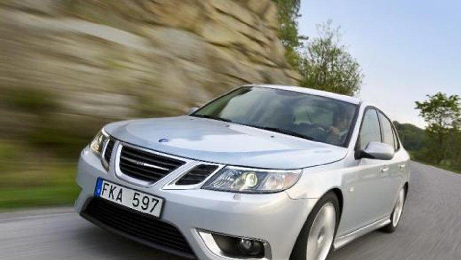 Mondial de l'Auto 2010 : Saab 9-3 restylée à l'approche