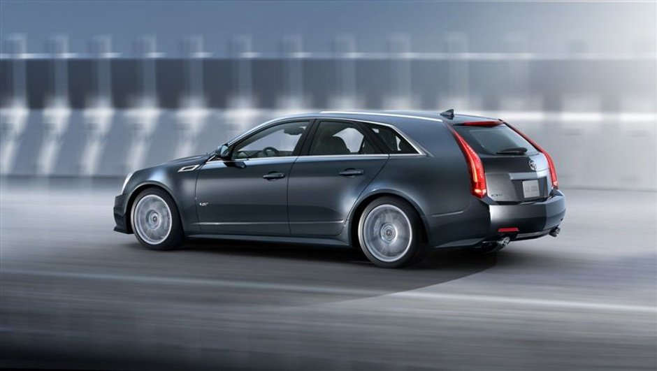 Cadillac CTS-V Sport Wagon, le break sportif
