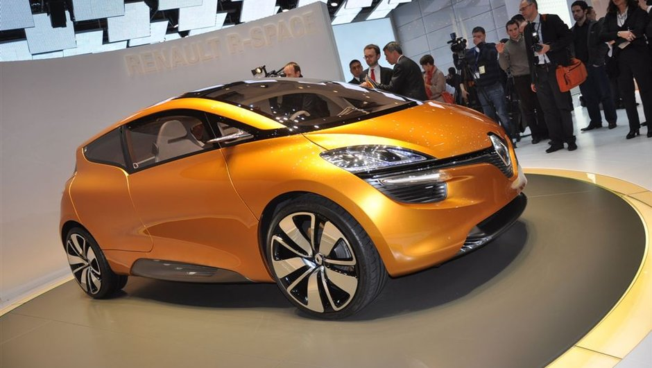 Salon de Genève 2011 : Renault R-Space Concept, le monospace familial et sportif