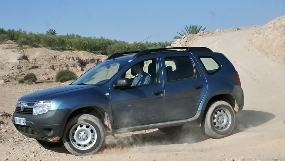 Dacia Duster : 4x4 de l'Année 2011
