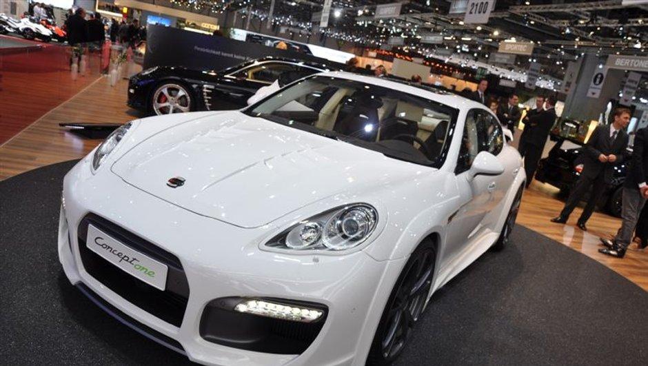 Salon de Genève 2010 : Porsche Panamera Techart Concept One