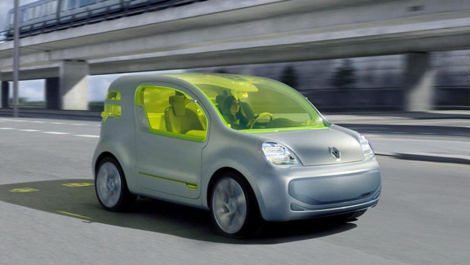 Mondial de l'Auto 2008 : Renault Z.E. Concept : Zero Emission