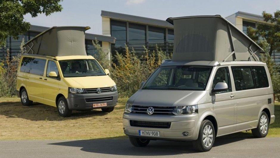 Volkswagen California : un modèle restylé au Salon des Véhicules de Loisirs