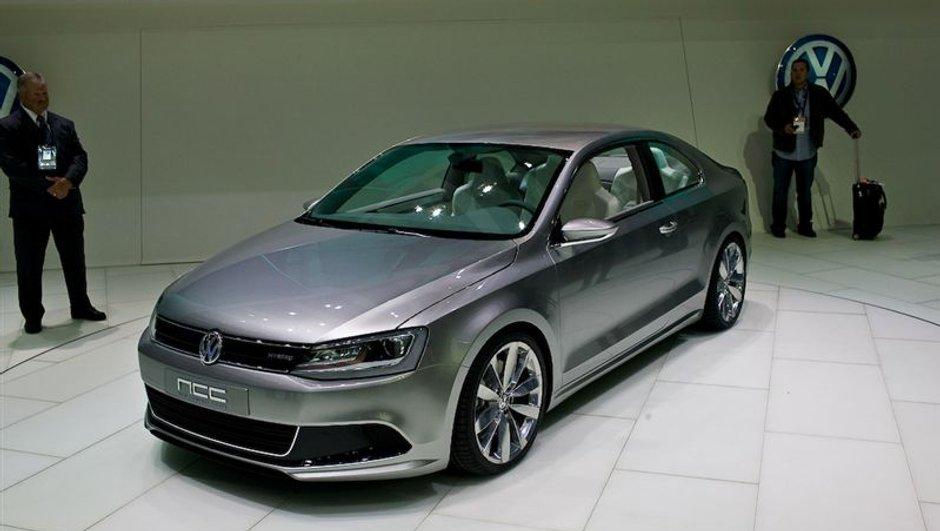 Salon de Detroit 2010 : Volkswagen Compact Coupé