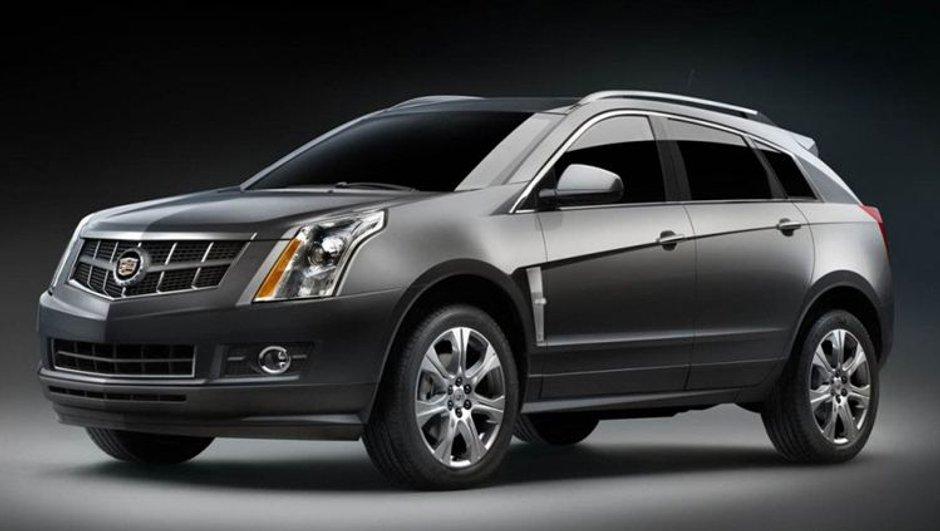 Salon de Détroit : Cadillac SRX 2009
