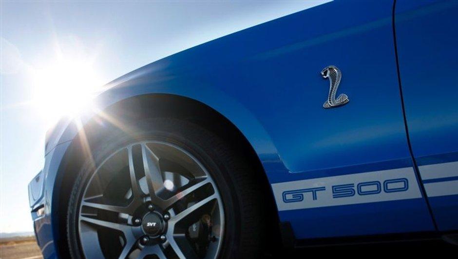 Détroit: la Ford Mustang Shelby GT500