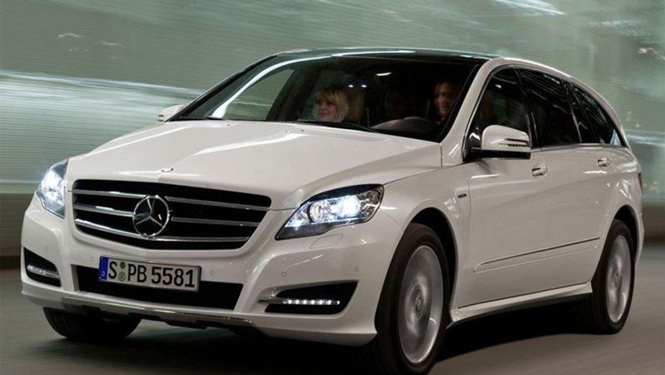 Nouveau Mercedes Classe R : un restylage bienvenu