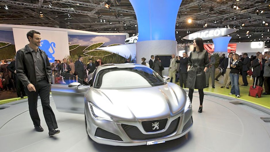 Peugeot RC HYmotion4 : Puissance hybride
