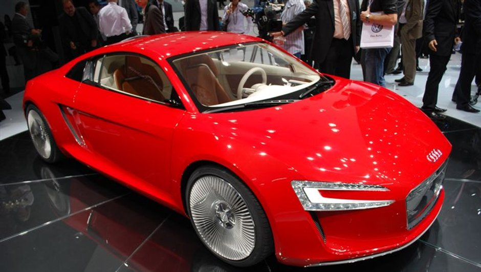 Salon de Francfort 2009 : Audi e-tron