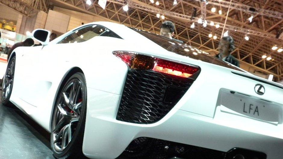 Salon de Tokyo 2009 : la Lexus LFA montre ses griffes !
