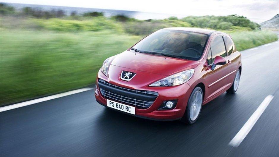 Les 10 voitures les plus vendues au 1er trimestre 2011