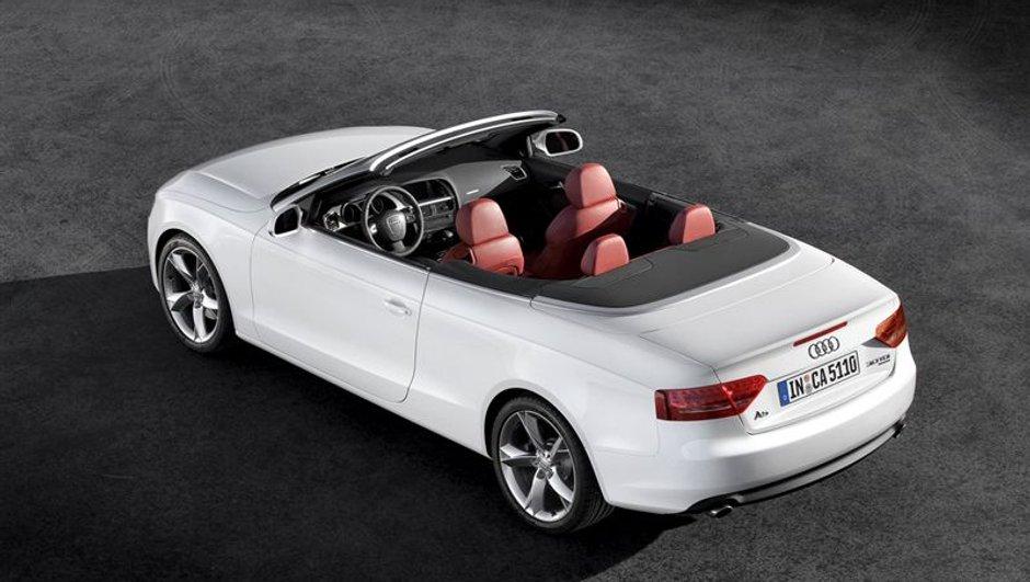 Audi A5 et S5: Des cabriolets dans le vent !