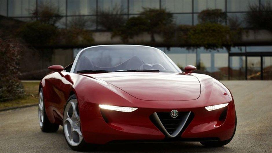 Salon de Genève 2010 : Alfa Romeo Pininfarina 2uettottanta