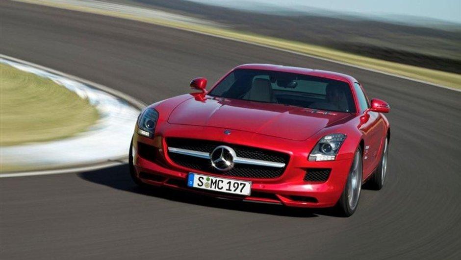 Salon de Francfort 2009 : Mercedes SLS AMG