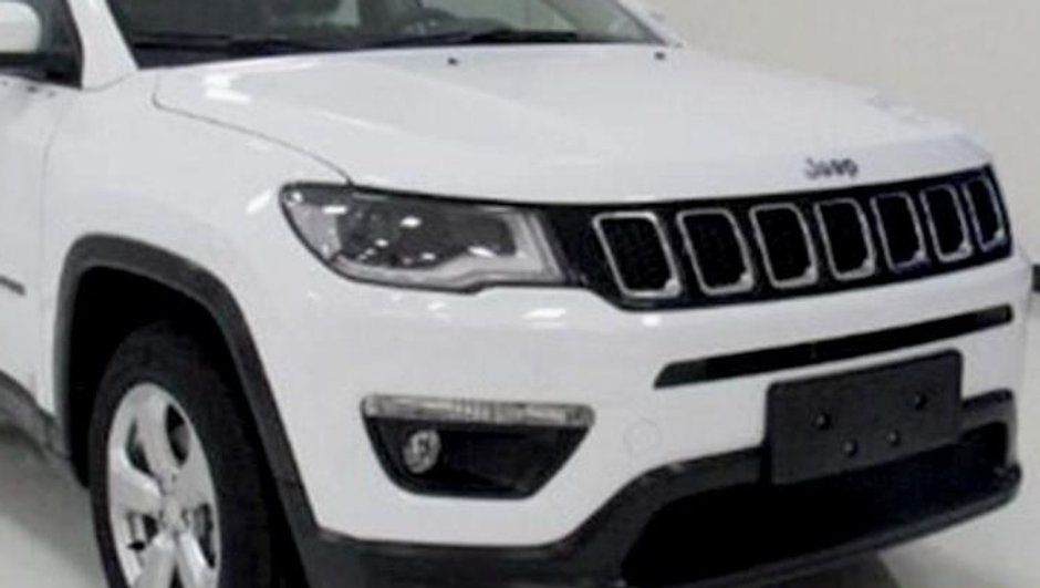Scoop : le futur Jeep Compass 2017 en fuite en Chine